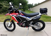 CRF250L Rally Project Bike