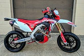 CRF450L Supermoto Project Bike